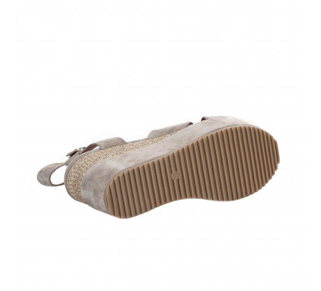Nu pieds femme - MJUS - Beige