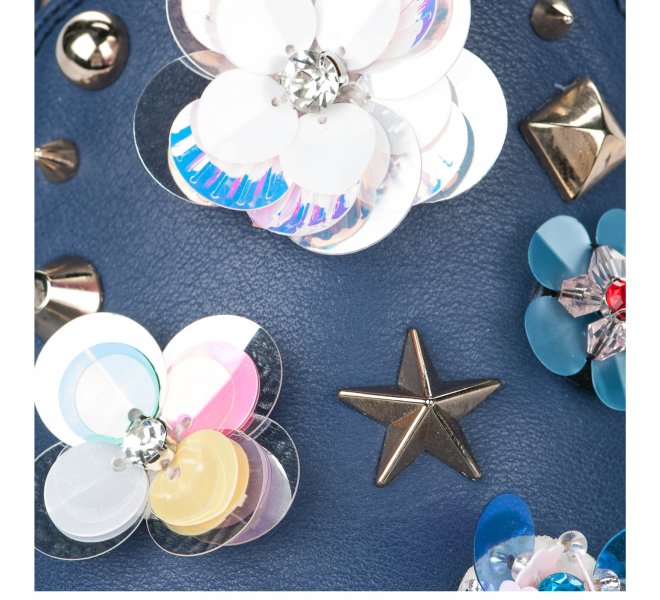 Mocassins femme - ANGEL INFANTES - Bleu marine