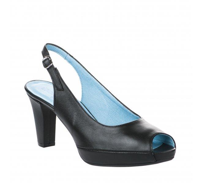 Nu pieds femme - DORKING - Noir