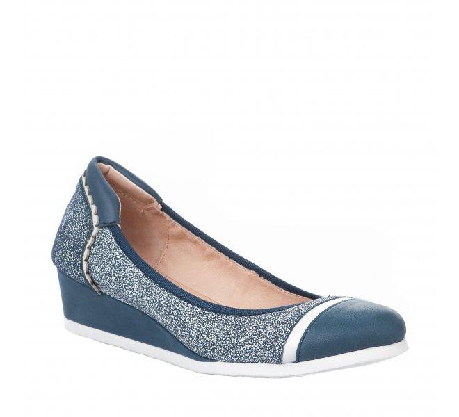 Ballerines femme - FUGITIVE - Bleu