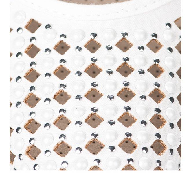Espadrilles femme - AEDO - Blanc