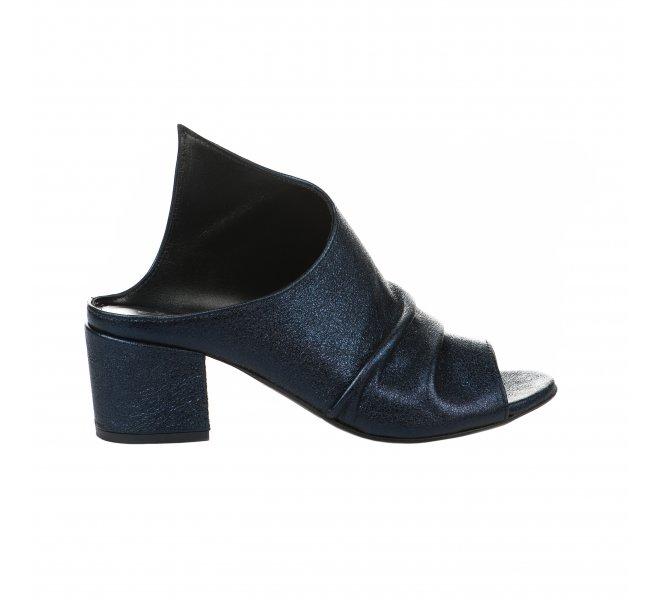 Mules femme - MIGLIO - Bleu