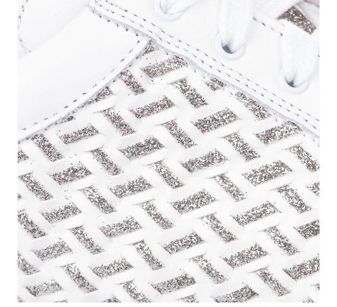 Baskets mode femme - LIFE - Blanc