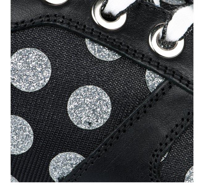 Baskets mode femme - DLS SPORT - Noir