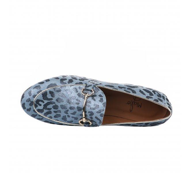 Mocassins femme - MIGLIO - Bleu