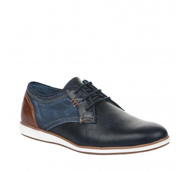 Chaussures à lacets homme - RAPID SOUL - Bleu marine