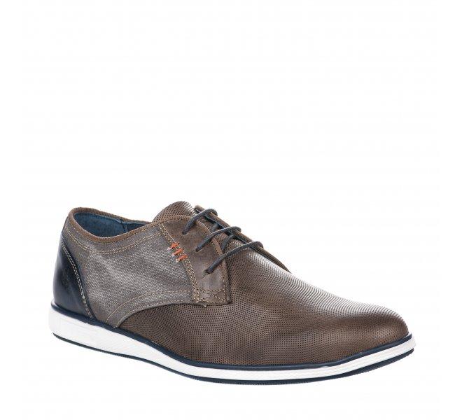 Chaussures à lacets homme - RAPID SOUL - Taupe