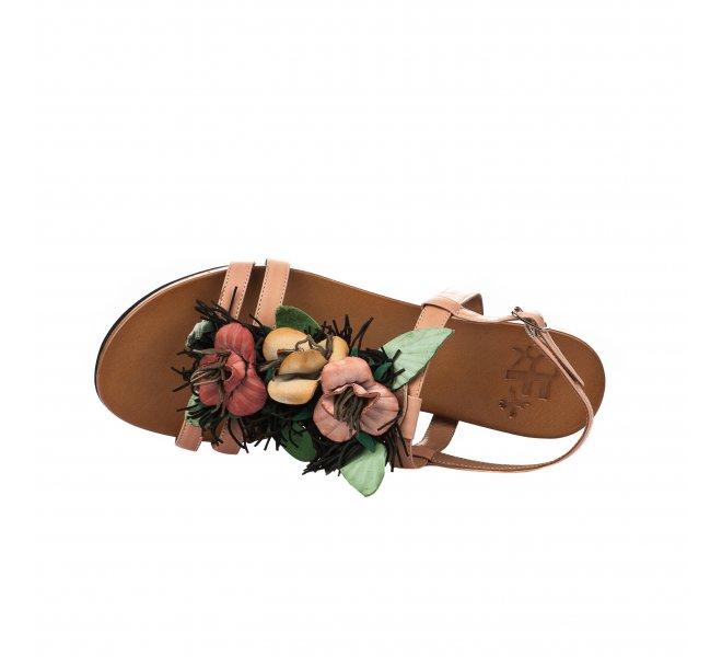 Nu pieds femme - FEMME PLUS - Rose