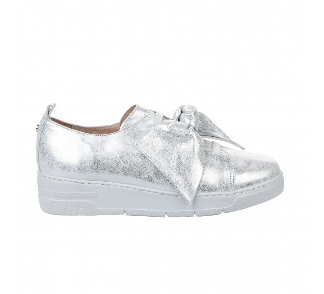 Baskets mode femme - HISPANITAS - Gris argent