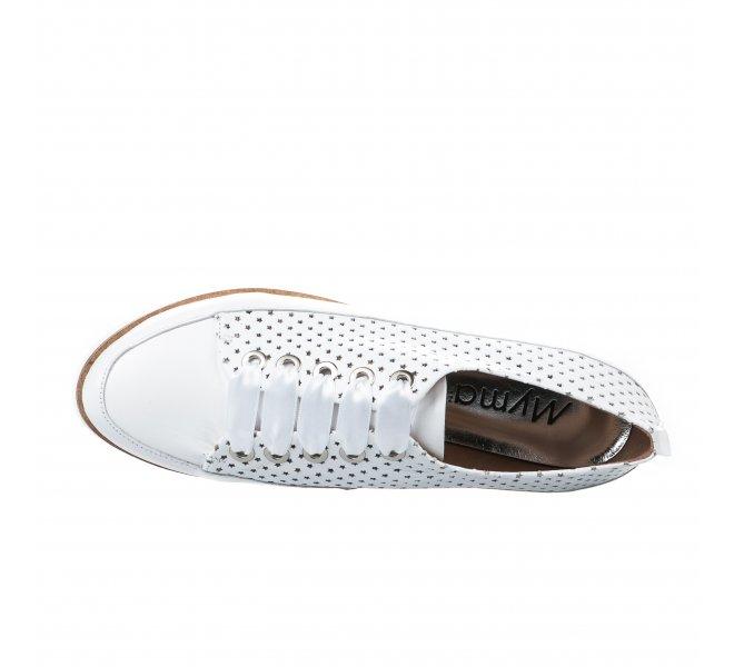 Baskets mode femme - MYMA - Blanc
