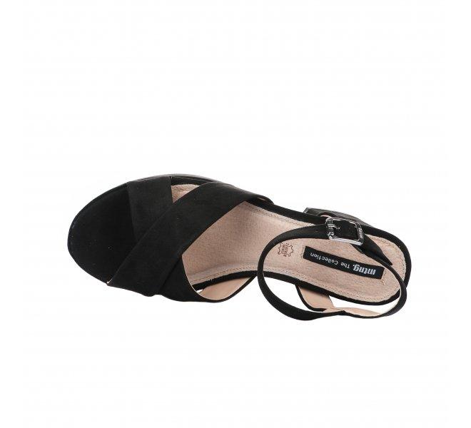Nu pieds femme - MTNG - Noir