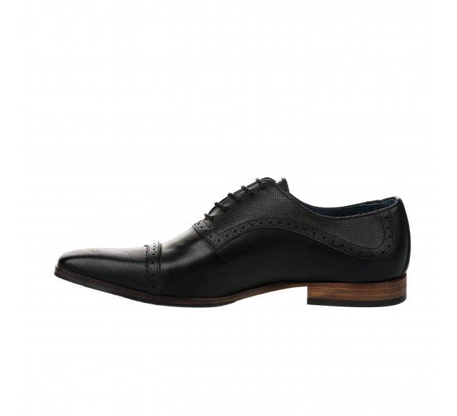 Chaussures à lacets homme - FIRST COLLECTIVE - Noir