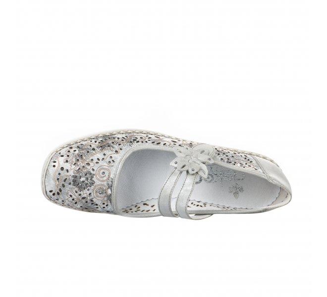Chaussures de confort femme - RIEKER - Gris