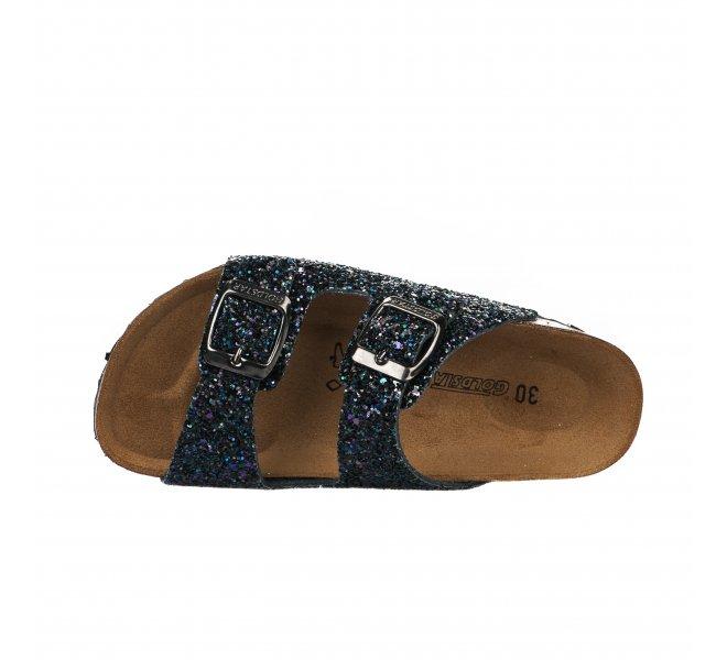 Mules fille - GOLDSTAR - Bleu marine