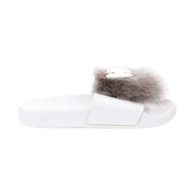 Mules fille - THE WHITEBRAND - Gris