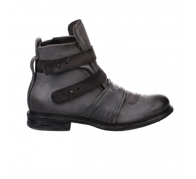 Boots homme - FIRST COLLECTIVE - Gris