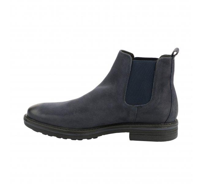 Boots homme - FIRST COLLECTIVE - Bleu marine