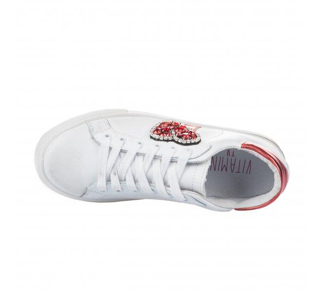 Baskets mode femme - VITAMINA TU - Blanc