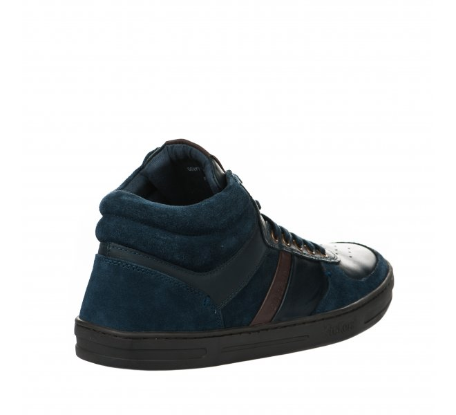 Bottines homme - KICKERS - Bleu marine