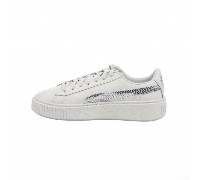 Baskets fille - PUMA - Gris clair