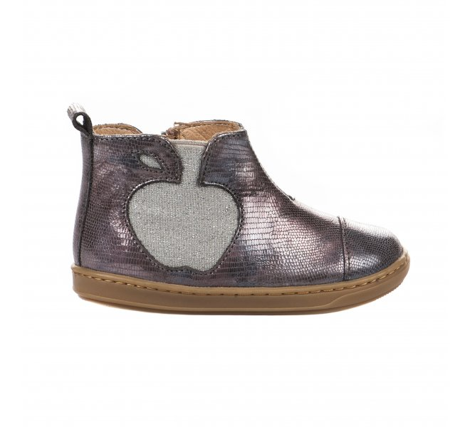 Boots fille - SHOO POM - Rose vieilli
