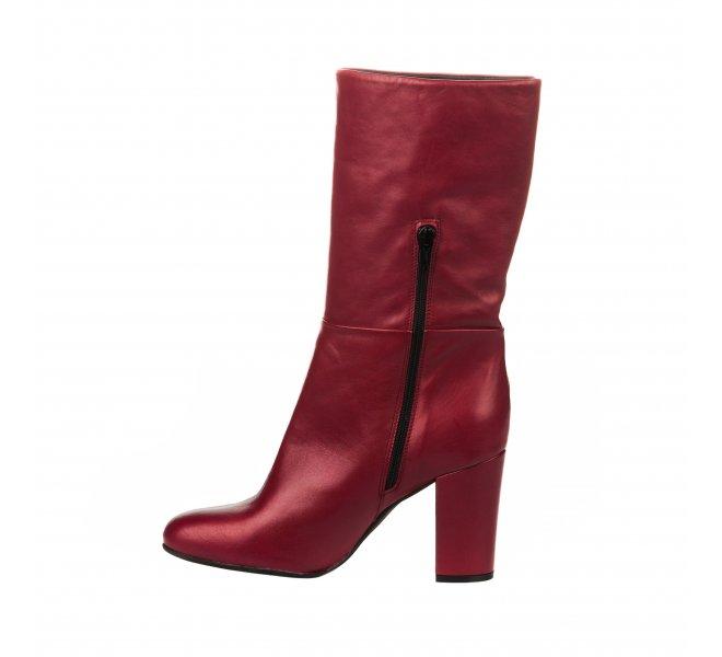Bottes femme - MIGLIO - Rouge