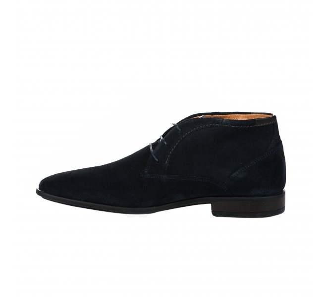 Bottines homme - FIRST COLLECTIVE - Bleu marine