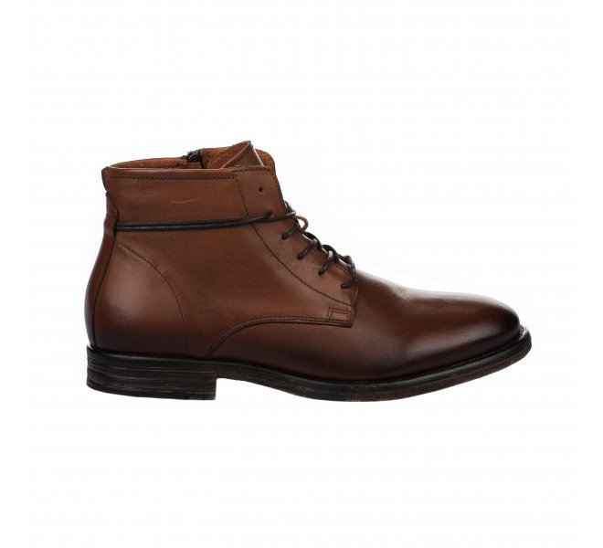 Bottines homme - FIRST COLLECTIVE - Naturel