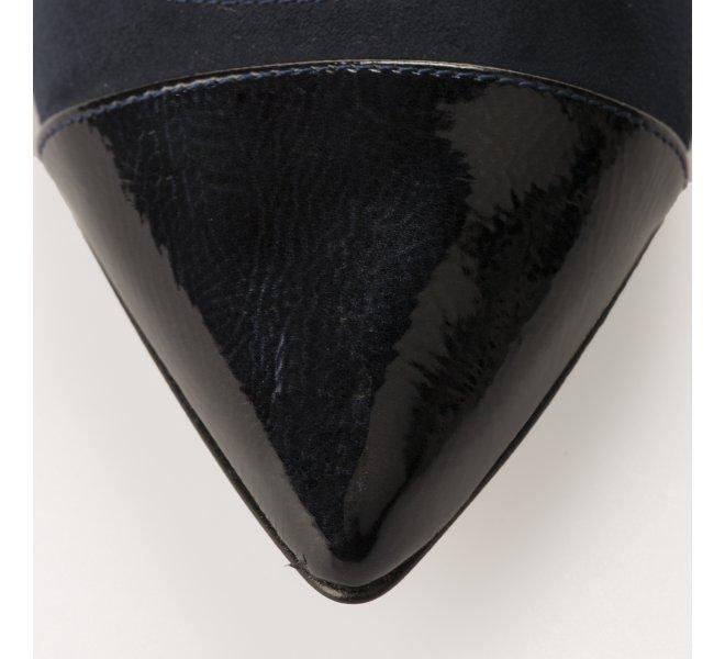Escarpins femme - STYME - Bleu verni