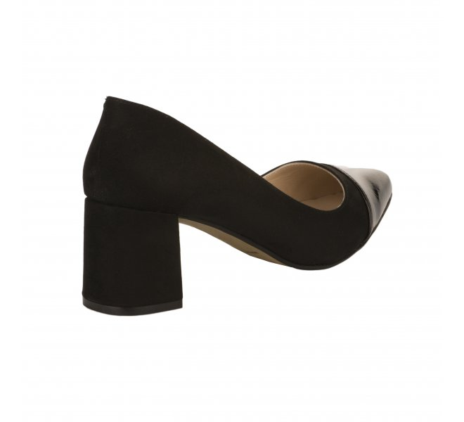 Escarpins femme - STYME - Noir verni