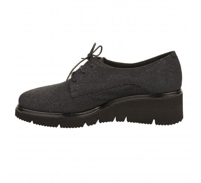 Chaussures à lacets femme - MIGLIO - Bleu marine