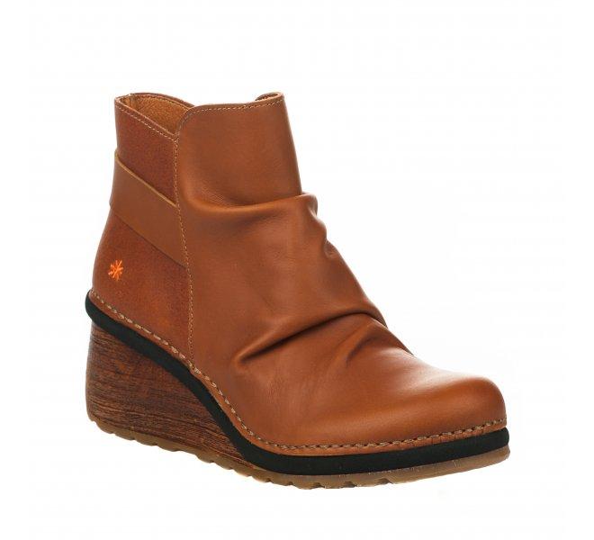 Boots femme - ART - Naturel