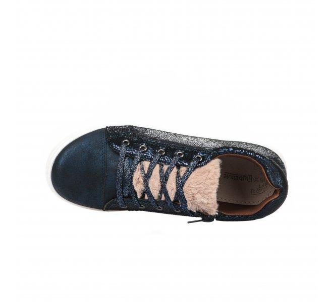 Baskets fille - BOPY - Bleu marine