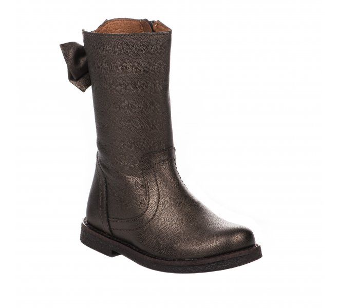 Bottes fille - APPLES & PEARS - Bronze