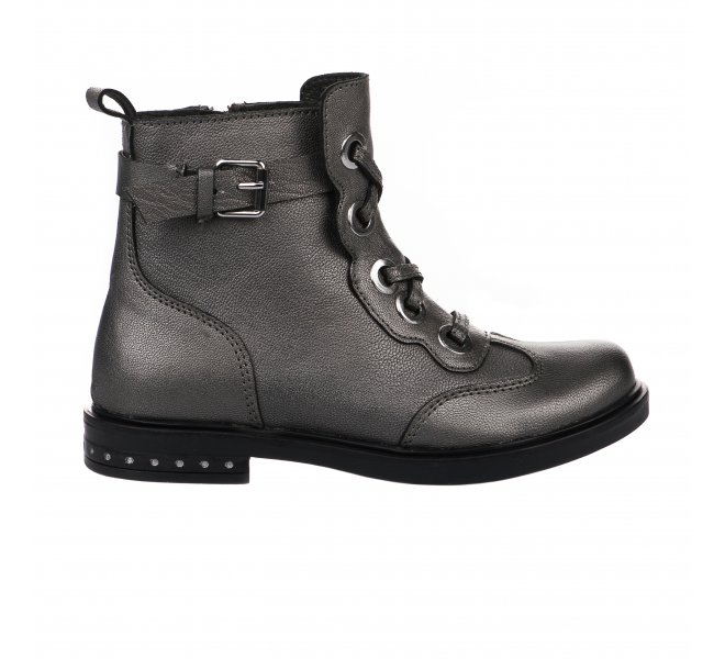 Boots fille - APPLES & PEARS - Gris