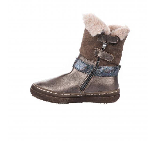 Boots fille - CATIMINI - Taupe