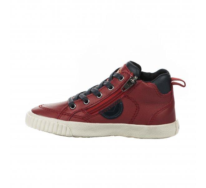 Baskets garçon - PLDM - Rouge