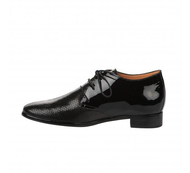 Chaussures à lacets femme - KARSTON - Noir