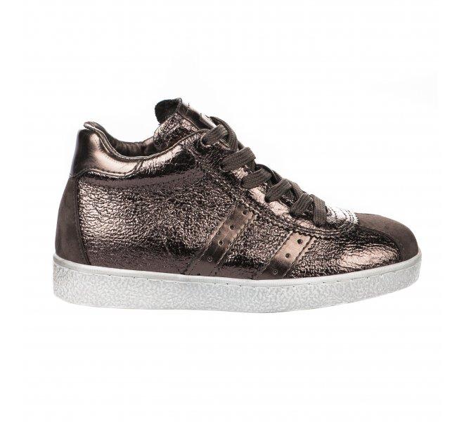 Baskets fille - LITTLE DAVID - Bronze