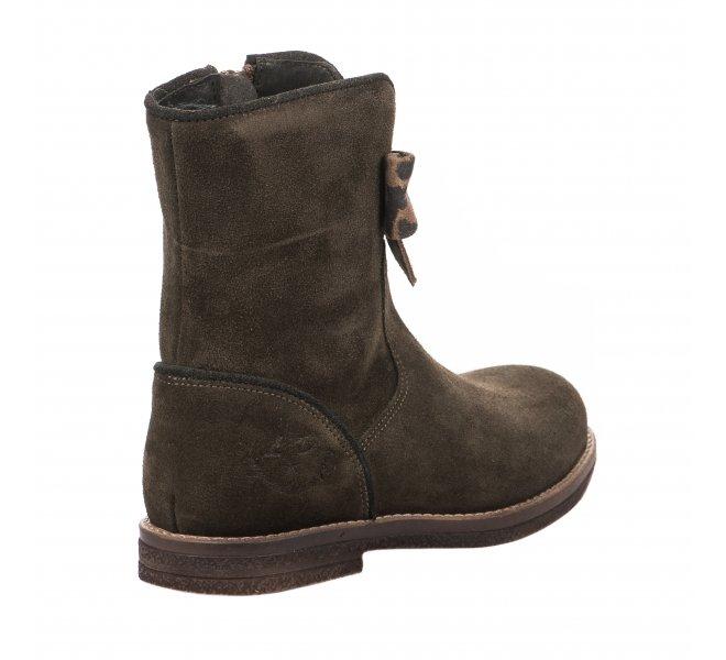 Boots fille - LITTLE DAVID - Kaki
