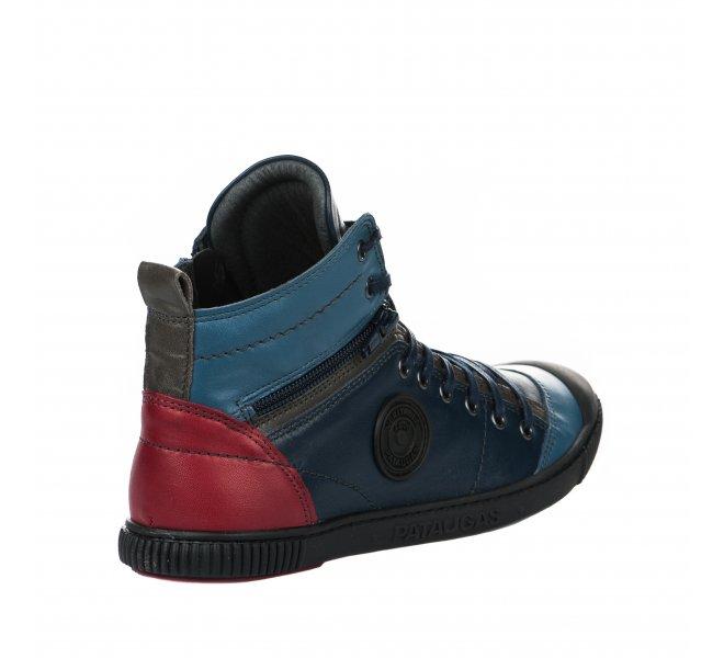 Baskets mode femme - PATAUGAS - Bleu marine