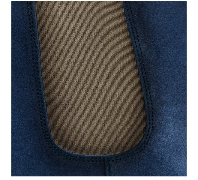 Boots femme - HDC - Bleu