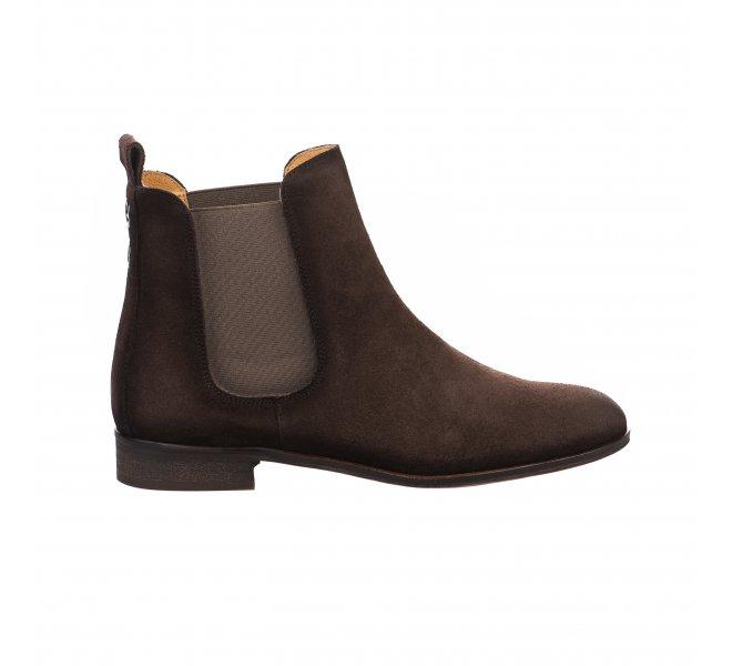Boots femme - HDC - Marron