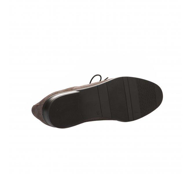 Chaussures à lacets Dorking taupe femme D7626 BU 65852