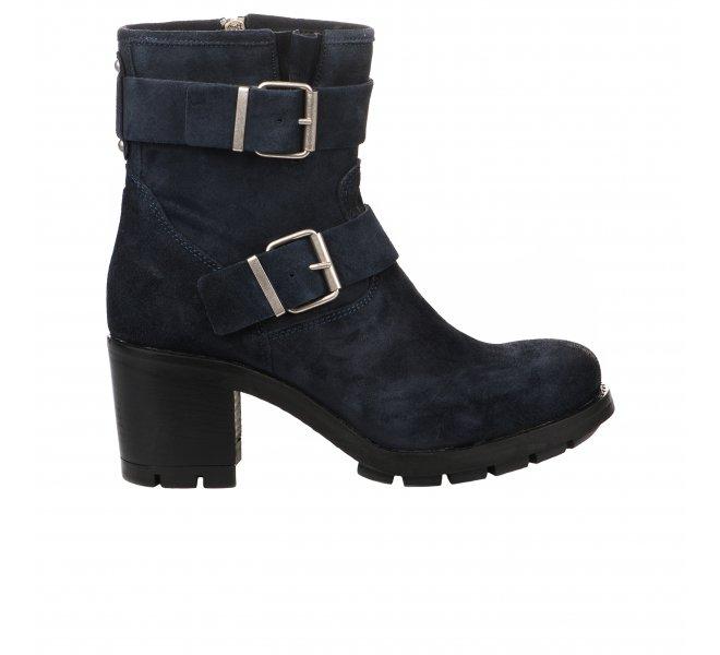 Boots femme PAOYAMA Bleu