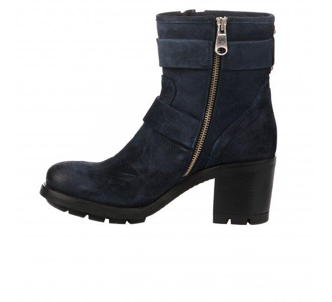 Boots femme - PAOYAMA - Bleu