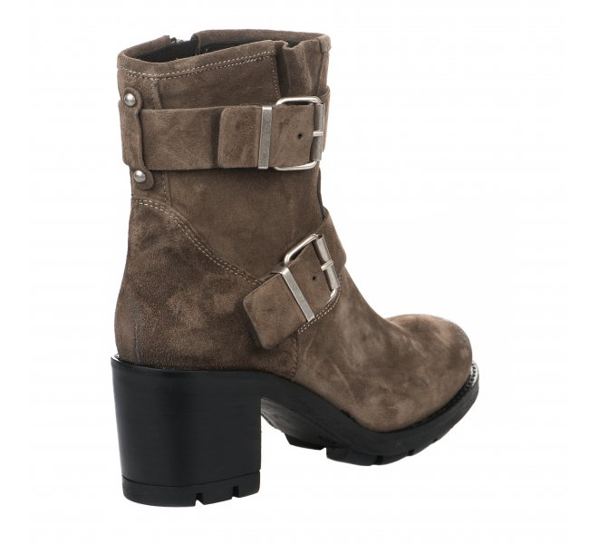 Boots femme - PAOYAMA - Taupe