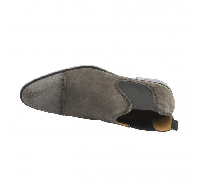 Boots homme - PELLET - Gris
