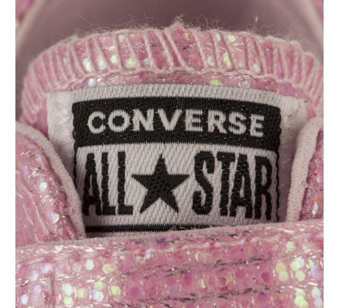 Baskets Converse rose fille 650135 10 66216