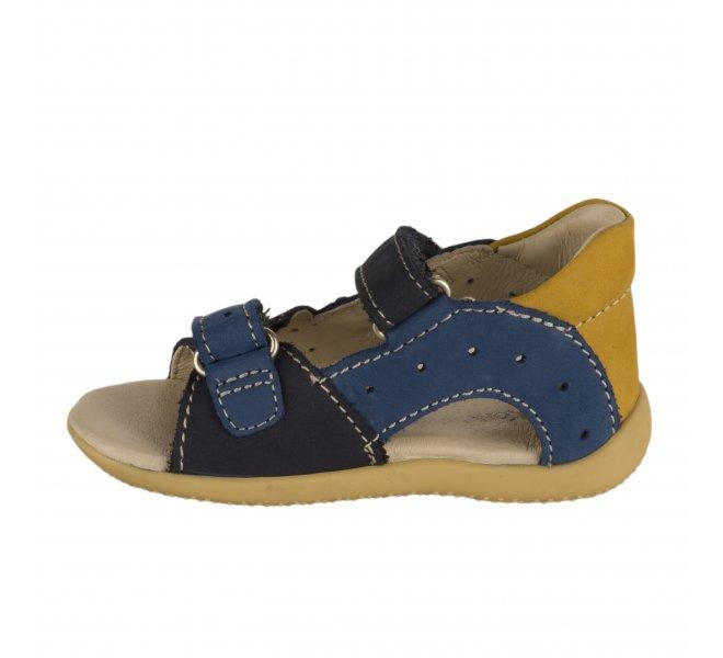 Nu-pieds garçon - KICKERS - Bleu marine